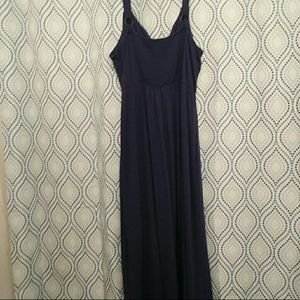 Navy Maxi Dress size 2X